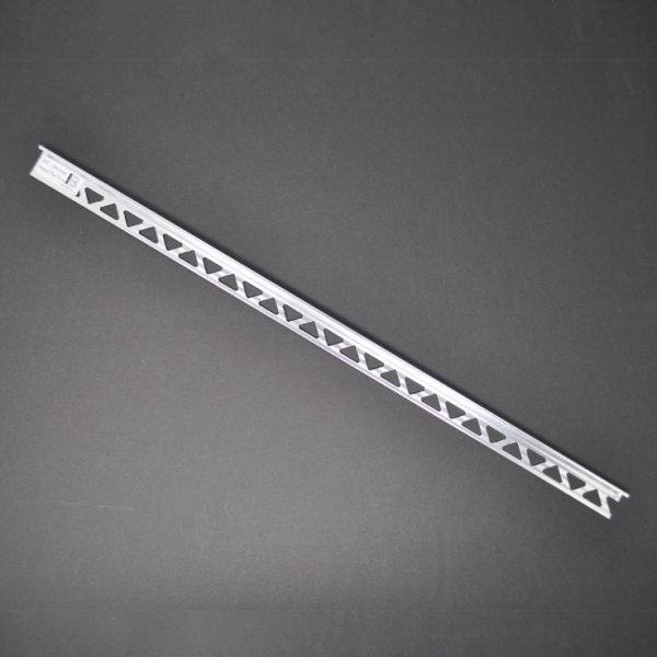Nickel Brush Tile Trim